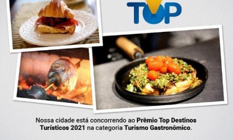 Destaque em 2019, Araçatuba volta a concorrer no Top Destinos Turísticos 2021