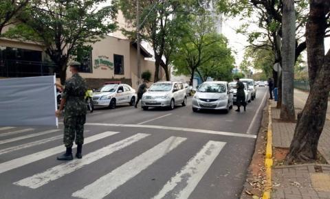 TG de Araçatuba participou de conscientização no trânsito