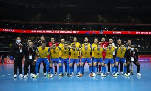 Brasil encara a Argentina por vaga na final da Copa do Mundo FIFA de Futsal