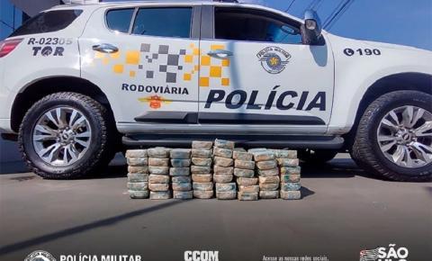 TOR prende casal por crime de tráfico de drogas