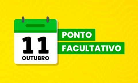Prefeitura suspende expediente na segunda (11), véspera do feriado de Nossa Senhora Aparecida