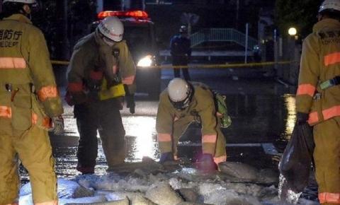 Terremoto no Japão deixa pelo menos 32 feridos