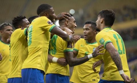 Brasil goleia o Uruguai em Manaus pelas Eliminatórias da Copa do Mundo FIFA 2022