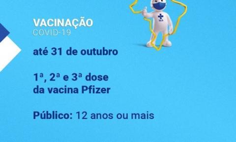 Vacinação Covid-19 em Araçatuba