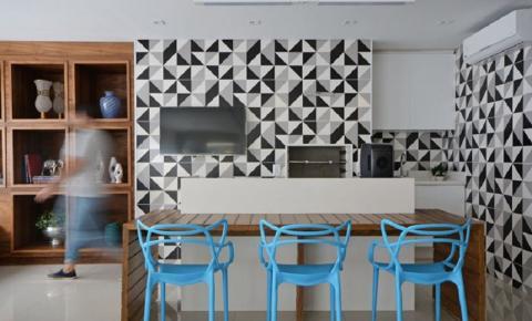 Aprenda a combinar os azulejos geométricos e dê um 'up' na sua casa