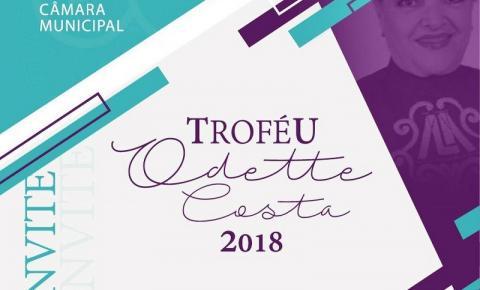 Convite Troféu Odette Costa