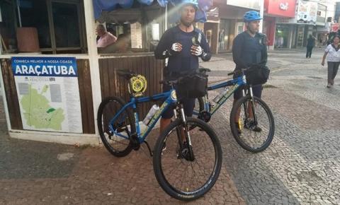 Bike Patrulha prende homem que tentou estrangular filho