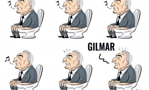 Oque será oque o Sr Ministro Gilmar Mendes tem na cabeça ?
