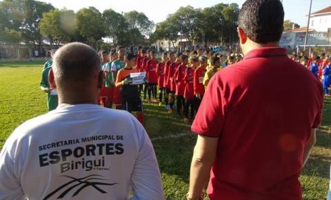 Secretaria de Esportes e Lazer de Birigui apoia a 3ª Copinha Society da Amizade Sub 11/13