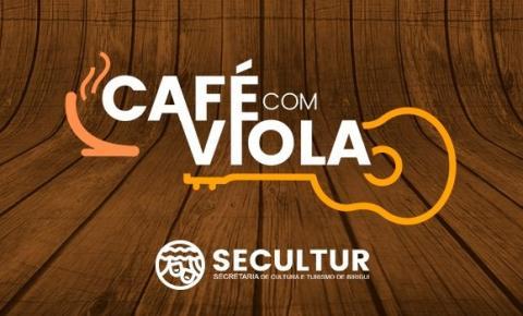 19ª edição do Café com Viola acontece neste domingo, das 9h às 11h, no bairro Costa Rica