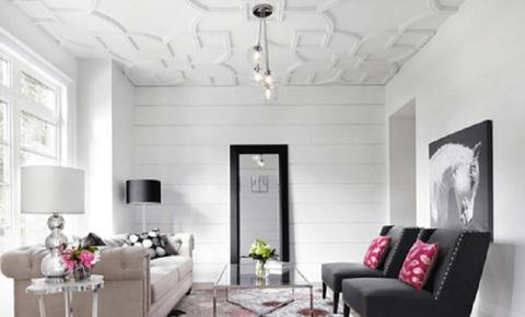 Teto decorado pode ser protagonista na decoração