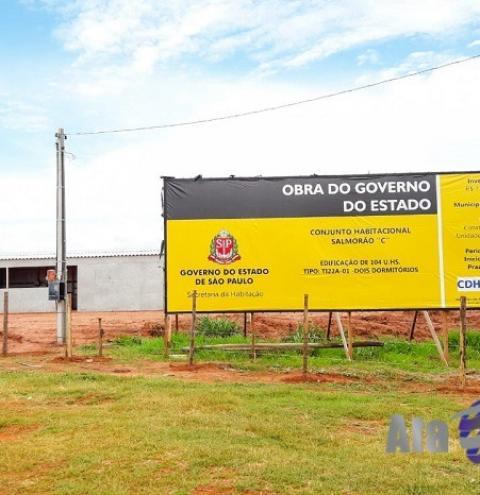Iniciadas as obras para construção de 104 casas populares em Salmourão