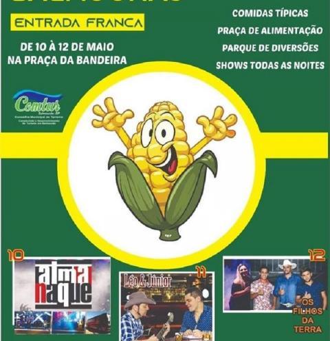 Prefeitura de Salmourão abre nesta sexta-feira, a 5ª Edição da Festa do Milho