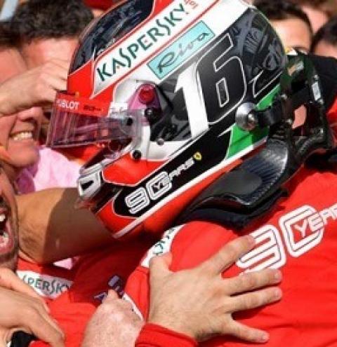 GP da Itália de F1: Charles Leclerc vence e leva à loucura os 'Tifosi' na casa da Ferrari
