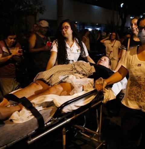 Hospital no Rio confirma 11 mortos após incêndio