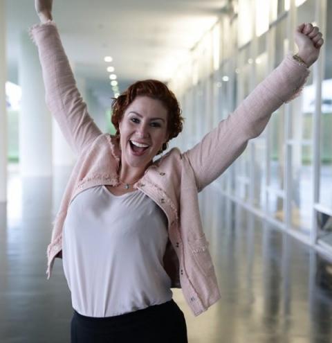 Carla Zambelli conquista prêmio de melhor deputada de 2019