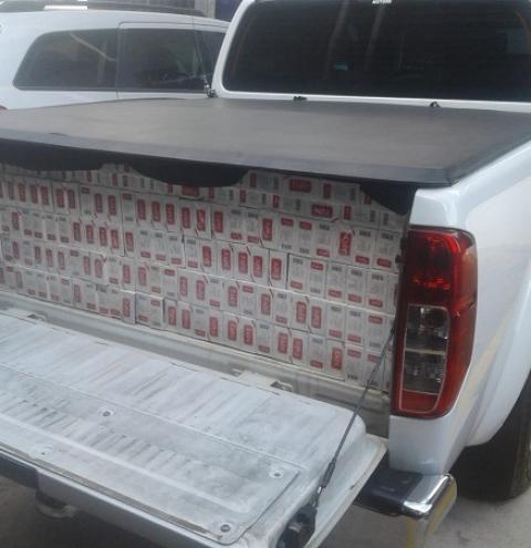PM Rodoviária apreende 20 mil maços de cigarros contrabandeados em Birigui