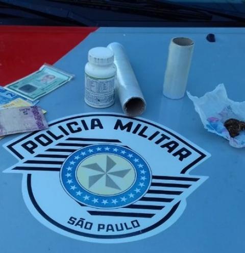 Menor é apreendido por tráfico de drogas em Adamantina